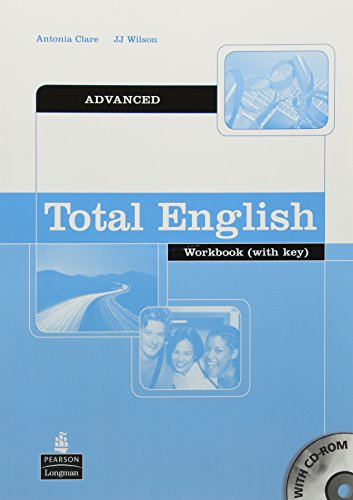 Total English Advanced Workbook and CD-Rom Pack By Antonia Clare