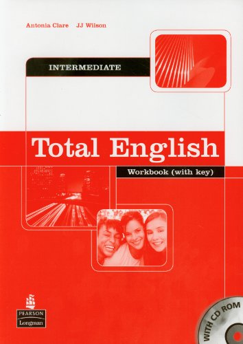 Total English Intermediate Workbook with Key and CD-Rom Pack by Antonia Clare