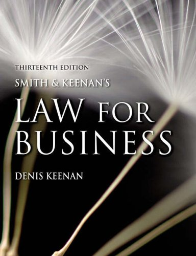 Smith & Keenan's Law for Business by Denis Keenan