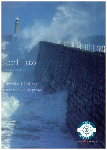 McBride and Bagshaw: Tort Law (Longman Law Series) By Nicholas J. Mcbride