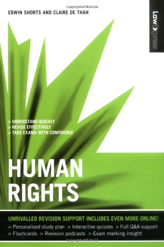 Law Express: Human Rights (Revision Guide) By Edwin Shorts