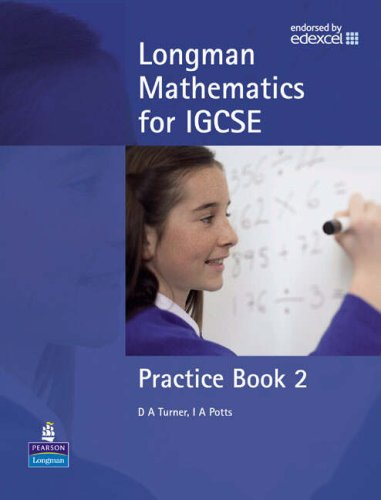 Longman Mathematics for IGCSE Practice Book 2 By Dave Turner