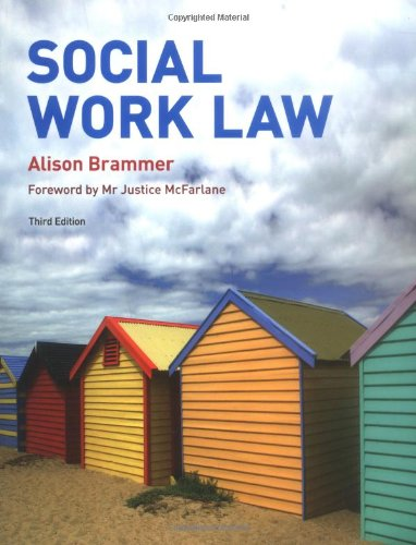 Social Work Law 3rd edition By Alison Brammer