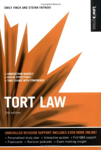 Tort Law by Emily Finch