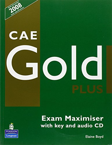 CAE Gold PLus Maximiser and CD with key Pack by Elaine Boyd