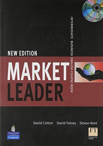 Market Leader Intermediate Coursebook/Class CD/Multi-Rom Pack By David Cotton