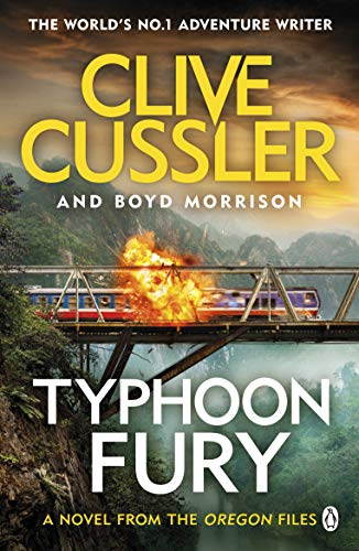 Typhoon Fury: Oregon Files #12 (The Oregon Files) By Clive Cussler