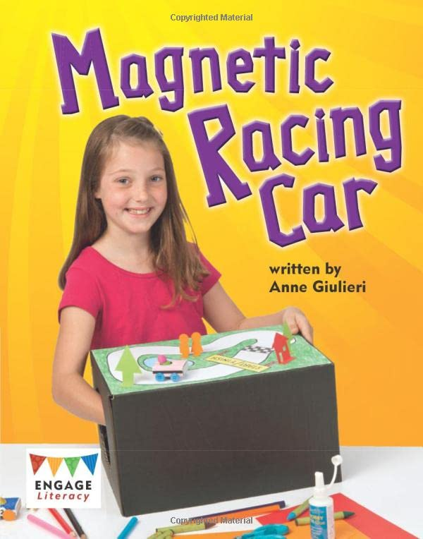 Magnetic Racing Car By Anne Giulieri