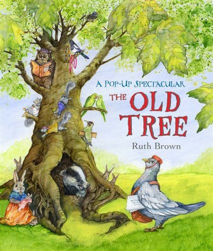 Old Tree By Brown Ruth