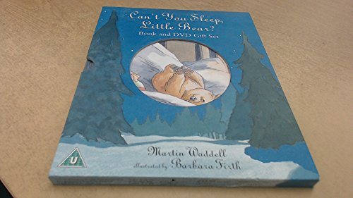 Can't You Sleep Little Bear? Book and DVD Gift Set By Martin Waddell - Illustrated by Barbara Smith
