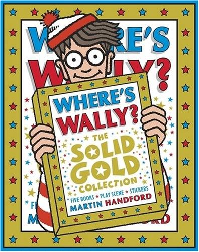 Where's Wally? The Solid Gold Collection By Handford Martin