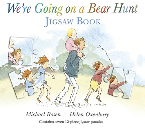 We're Going on a Bear Hunt Jigsaw Book by Michael Rosen