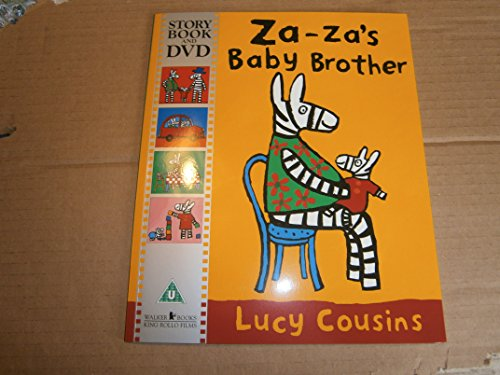 Za-Za's Baby Brother (+ DVD) By Lucy Cousins