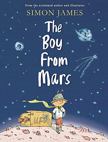 The Boy from Mars By Simon James