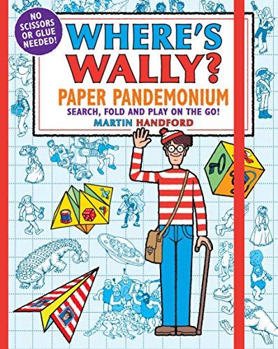 Where's Wally? Paper Pandemonium By Martin Handford