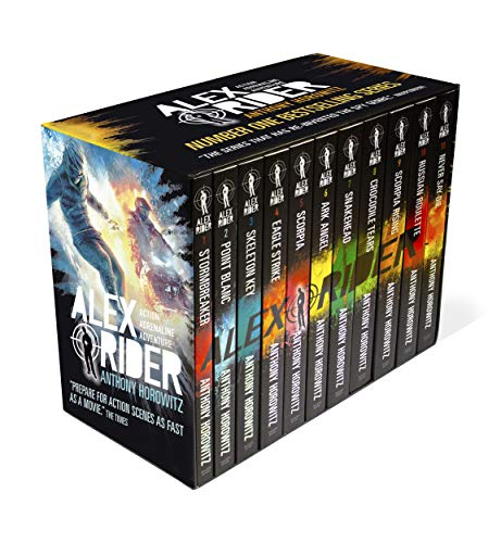 Alex Rider: The Complete Missions 1-11 By Anthony Horowitz