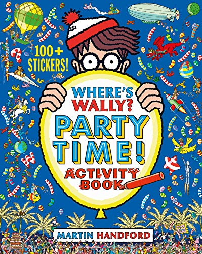 Where's Wally? Party Time! By Martin Handford