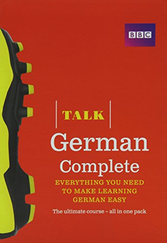 Talk German Complete (Book/CD Pack): Everything you need to make learning German easy by Jeanne Wood