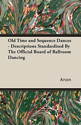 Old Time and Sequence Dances By Anon