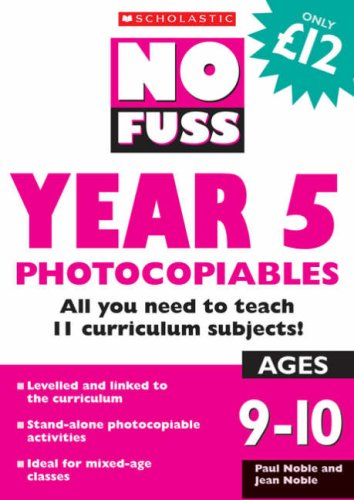Year 5 Photocopiables By Paul Noble