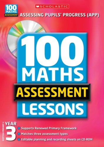 100 Maths Assessment Lessons: Year 3 by Ann Montague-Smith