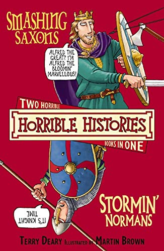 Horrible Histories Collection: Smashing Saxons & Stormin' Normans (NE) By Terry Deary