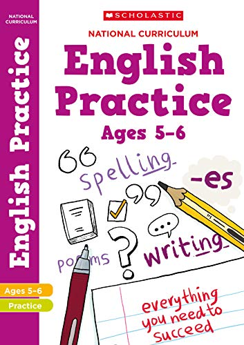 National Curriculum English Practice Book for Year 1 By Scholastic