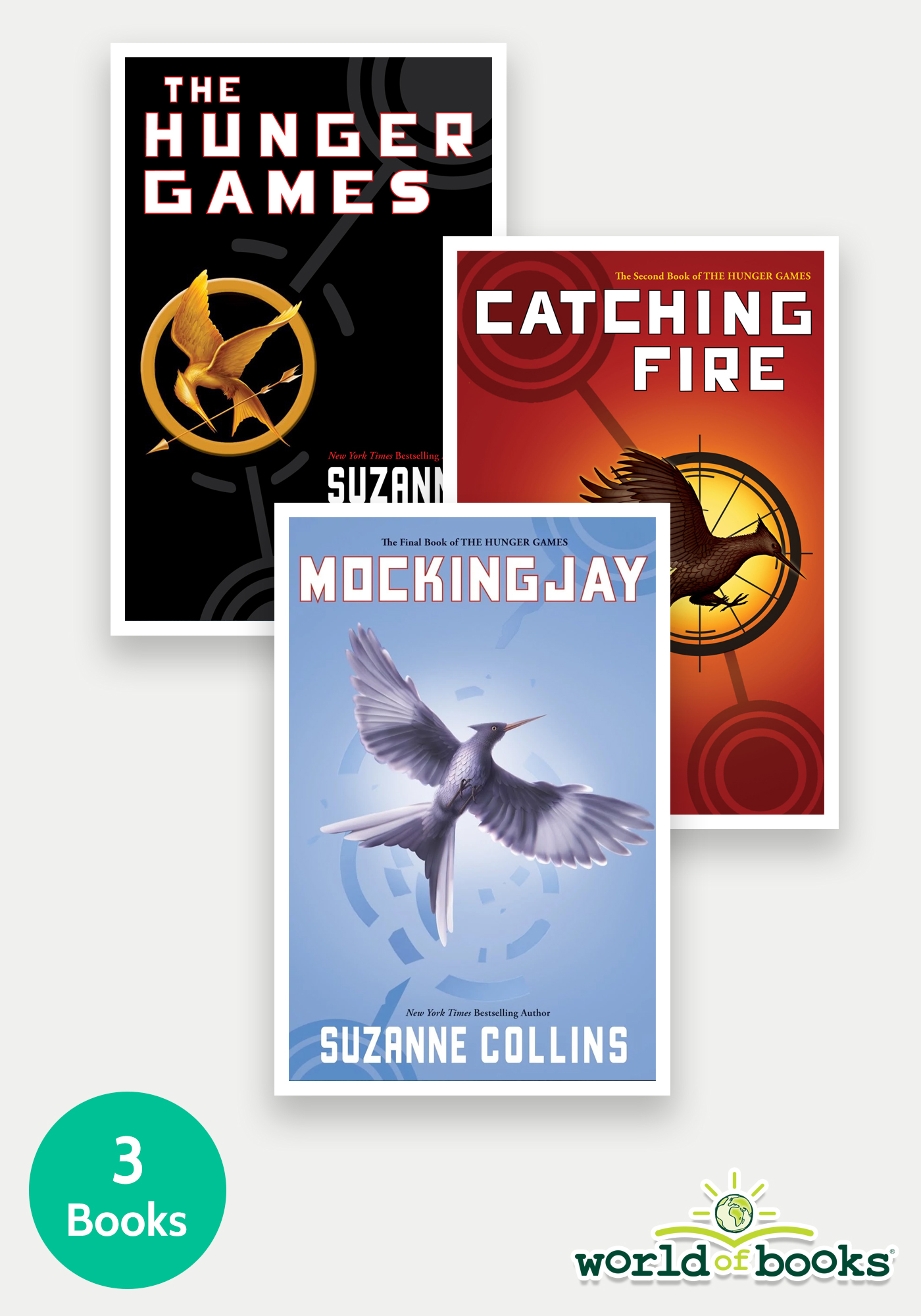 The Hunger Games Trilogy - 3 Book Bundle