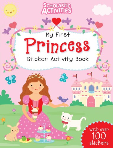 My First Princess Sticker Activity Book By Jo Moon