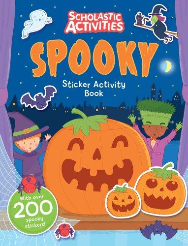 Spooky Sticker Activity Book By Steven Wood