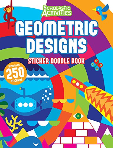 Geometric Designs Sticker Doodle Book By no author