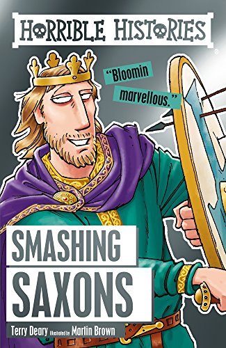 Smashing Saxons By Terry Deary