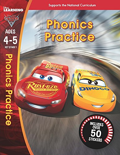 Cars 3: Phonics (Ages 4-5) By Scholastic
