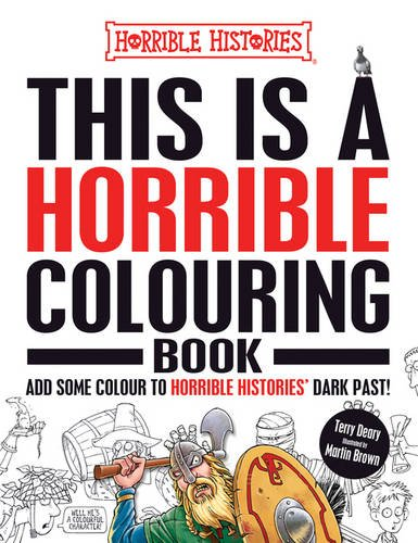 This is a Horrible Colouring Book By Terry Deary