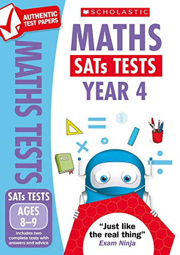 2019 SATs Practice Papers for Maths, Year 4 (National Curriculum SATs Tests) By Paul Hollin