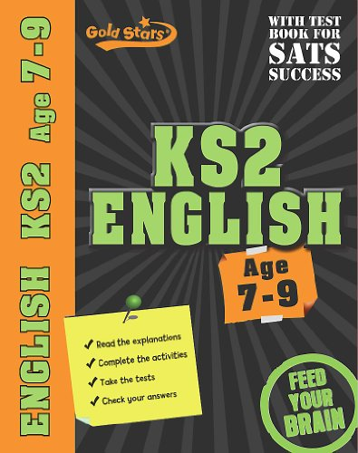 Gold Stars Workbooks: KS2 Age 7-9 English by