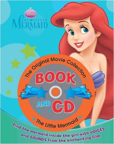 "Disney Book and CD: ""Little Mermaid"" by"