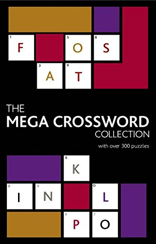 The Mega Crossword Collection By Parragon
