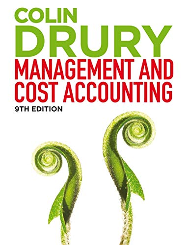 Management and Cost Accounting (with CourseMate and eBook Access) By Colin Drury