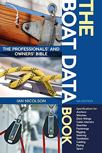 The Boat Data Book By Ian Nicolson