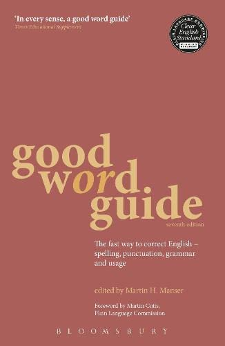 Good Word Guide By Martin Manser
