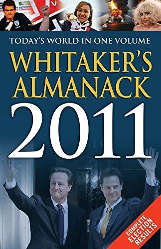 Whitaker's Almanack: 2011 by Joseph Whitaker