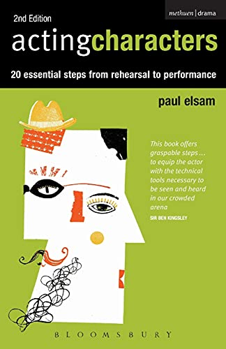 Acting Characters (Performance Books) By Paul Elsam