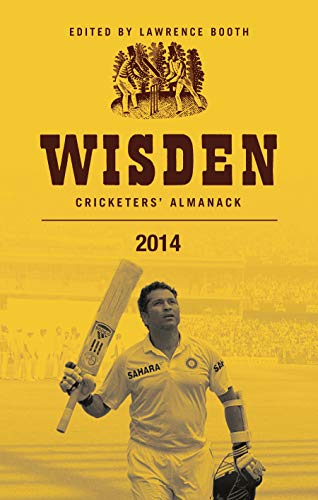 Wisden Cricketers' Almanack 2014 By Lawrence Booth