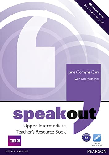 Speakout Upper Intermediate Teacher's Book By Jane Comyns-Carr