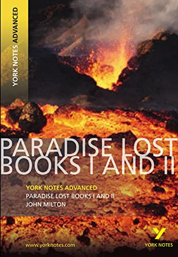 Paradise Lost: Books I & II (York Notes Advanced) By Geoff Ridden