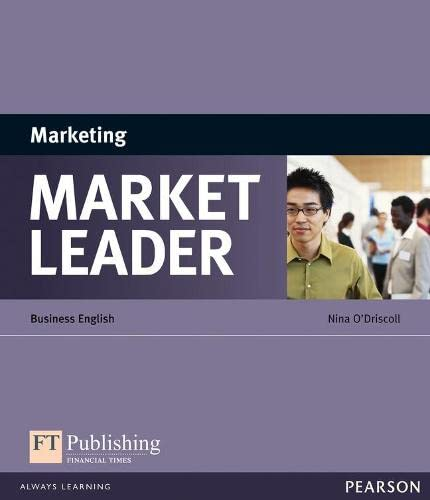 Market Leader ESP Book - Marketing by Nina O'Driscoll