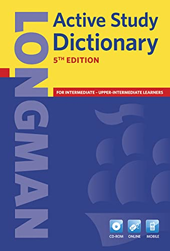 Longman Active Study Dictionary 5th Edition CD-ROM Pack by