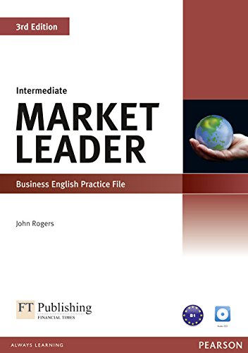 Market Leader 3rd edition Intermediate Practice File CD for pack By Peter Strutt