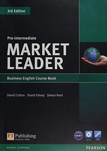 Market Leader 3rd Edition Pre-Intermediate Coursebook & DVD-Rom Pack By David Cotton